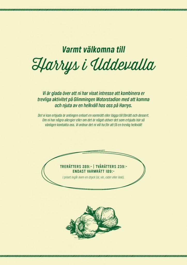 Harrys meny